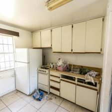 Unrenovated kitchen
