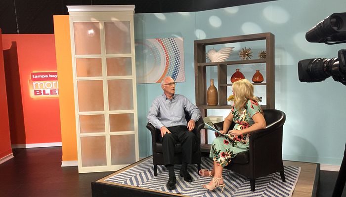Interview with Ed Thiebe from Community Service Foundation on Tampa Bay's Morning Blend